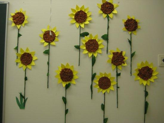 Auringonkukkia (3-4 luokka)