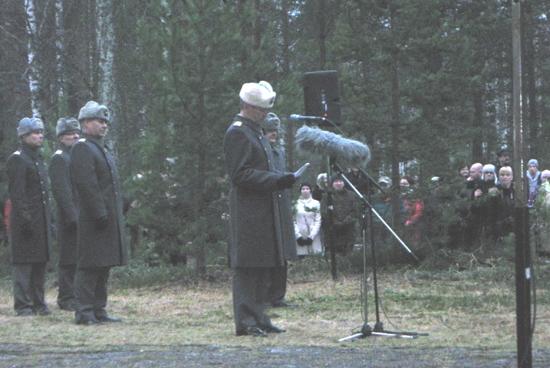 Kenraali Puheloinen. Kuva: Alpo Rummukainen.