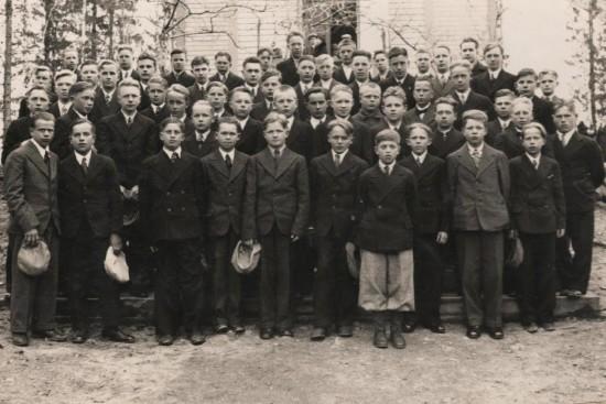 Vanha valokuva 1930 luvulta.