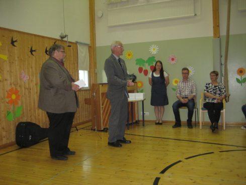 Lions Clubin stipendit jakoivat Markus Kontiainen sekä Pekka Kunnas