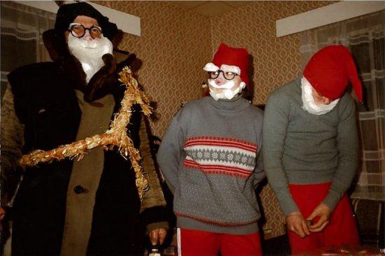 sulo joulupukkina