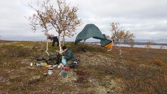 teltan-kuivatusta