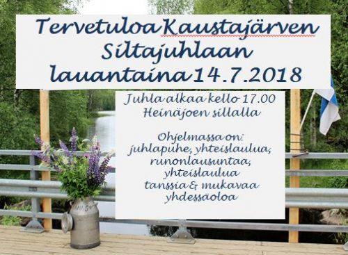 Kaustajärven Siltajuhlat @ Heinäjoen silta
