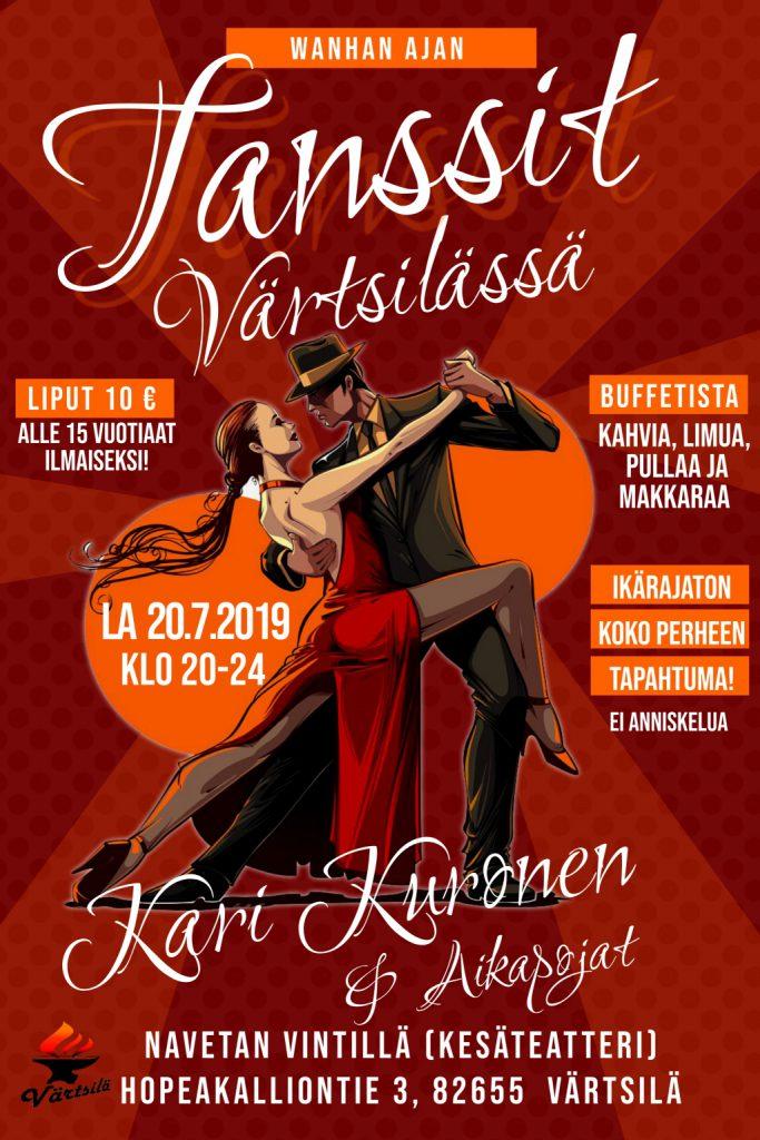 Wanhan ajan Tanssit Navetan vintillä @ Värtsilän kesäteatteri