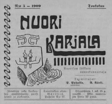 Nuori Karjala 5/1909