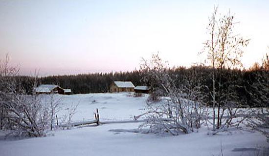 Kenraalinkylää 1960- luvun loppupuolelta.