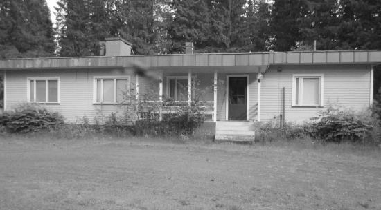 1960-luvun alussa rakennettu uusi päärakennus. Kuva: O. Pakarinen