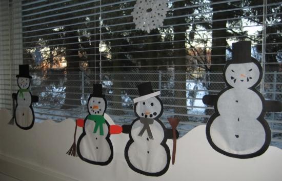 Lumiukkoja 3-4 lk