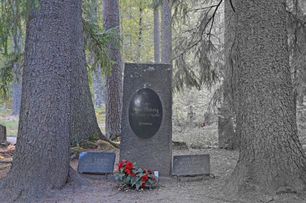 Utran hautausmaan vanhaa puolta. Kuva MH