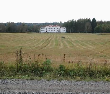 näkymä valkoiselle talolle
