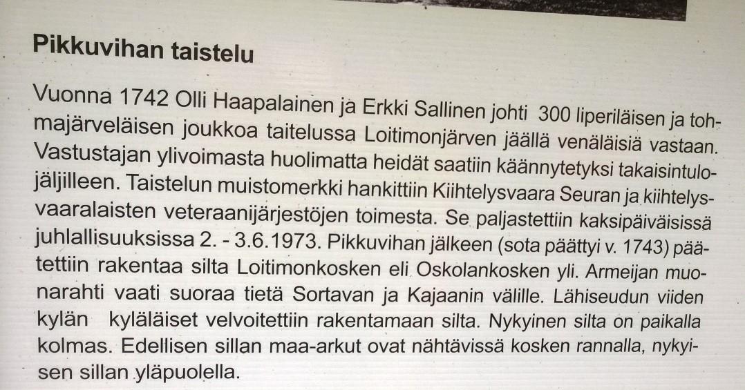 Suuren Rantatien julma pikkuviha 1741-1743