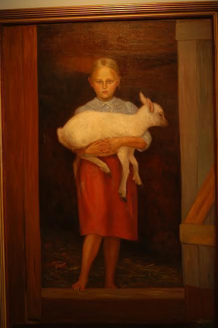 Hugo Simberg: Lammastyttö