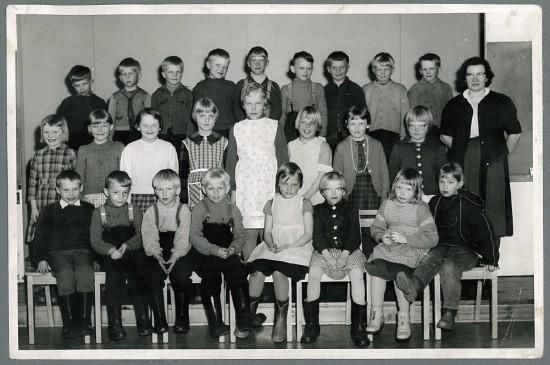 uudenkylän 1-2 lk 1960