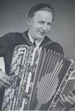 Teuvo Varonen. Kuva otettu 2.9.1949.