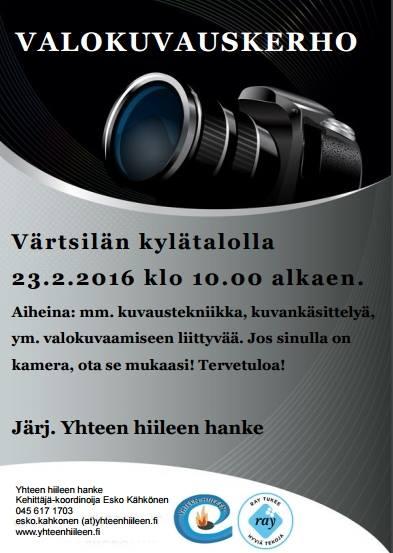 valokuvauskerho