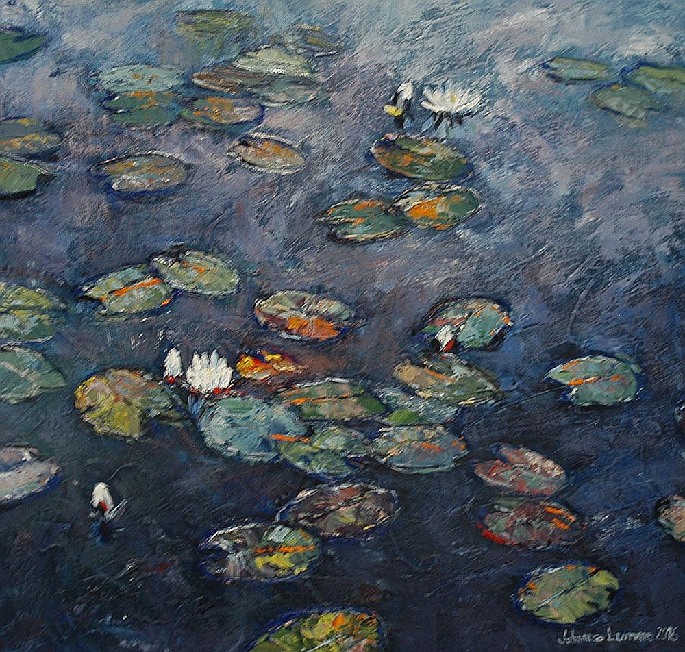 Johanna Lumpeen lummetaidetta a´la Monet