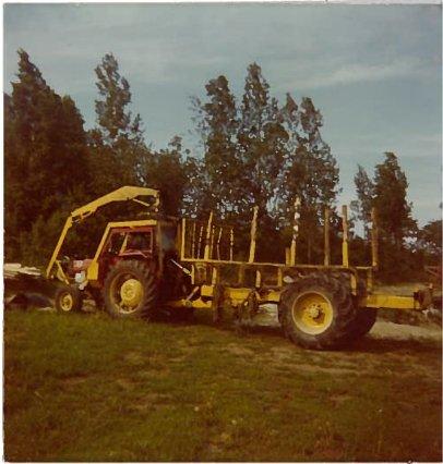 Sulon metsätraktori