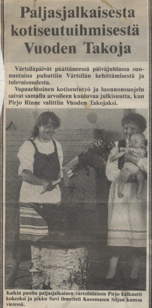 Vuoden takoja -86