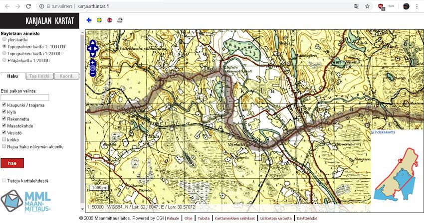 Via Karelian Matkakuvat Runon Ja Rajan Tie On Nyt Napsu